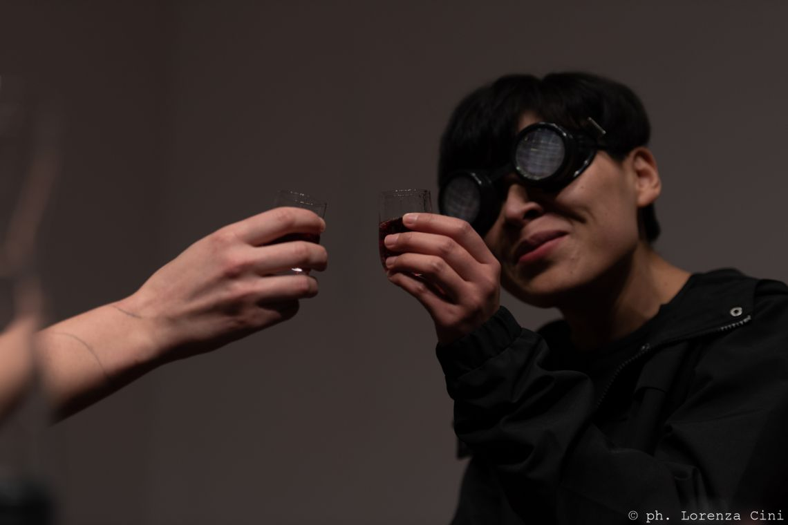 Gao Yu Jie, Venice International Performance Art Week 2020, Co-Creation Live Factory, Photograph © Lorenza Cini