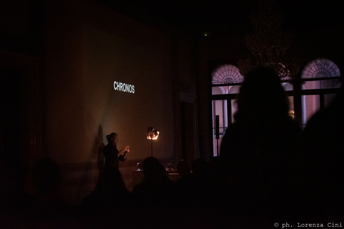 Francesco Kiais, Venice International Performance Art Week 2020, Co-Creation Live Factory, Photograph © Lorenza Cini